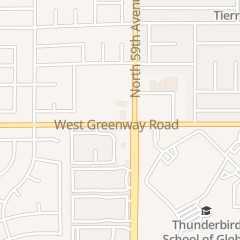 Directions for On Stage Dance Academy in Glendale, AZ 5930 W Greenway Rd Ste 15