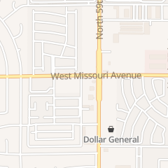 Directions for The Potters House in Glendale, AZ 5909 W Missouri Ave