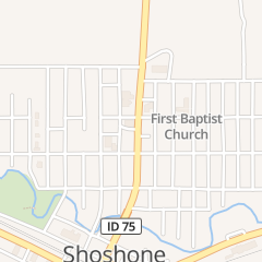 Directions for CRAIG'S SNACK BAR in SHOSHONE, id 415 N GREENWOOD ST