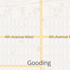 Directions for Brown and James Attorneys At Law in Gooding, ID 130 4th Ave W