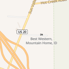 Directions for Wingers in Mountain Home, ID 3150 Foothills Ave