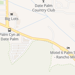 Directions for Nutricion Natural in Cathedral City, CA 69038 E Palm Canyon Dr