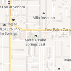 Directions for Motel 6 in Palm Springs, CA 595 e Palm Canyon Dr