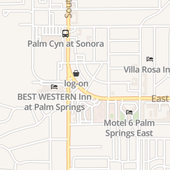 Directions for Davey's Hideaway Restaurant in Palm Springs, CA 292 E Palm Canyon Dr