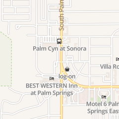 Directions for Old Creek House in Palm Springs, CA 1555 S Palm Canyon Dr Bldg E
