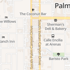 Directions for LULU in Palm Springs, ca 200 S Palm Canyon Dr