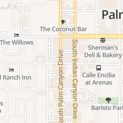 Directions for Zin American Bistro in Palm Springs, CA 198 S Palm Canyon Dr