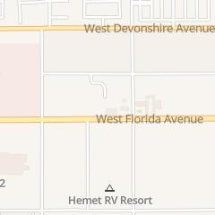 Directions for Hemet Locksmith Shop in Hemet, CA 1770 W Florida Ave