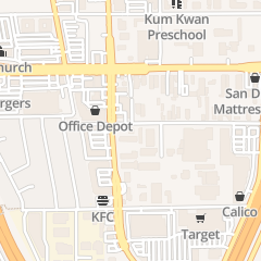Directions for The American Legion in San Diego, CA 7815 Armour St