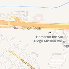 Directions for JENKINS JEFFREY R DVM in San Diego, CA 2317 Hotel Cir S