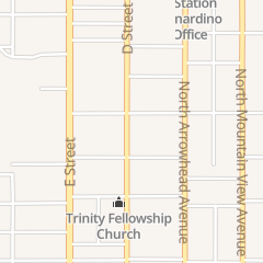 Directions for Mount Hebron Baptist Church in San Bernardino, CA 1759 N D St
