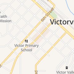 Directions for New Life Christian Fellowship in Victorville, CA 15554 Seventh St