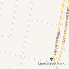 Directions for Primera Iglesia Bautista in Hesperia, CA 8751 3rd Ave
