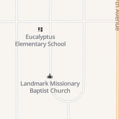 Directions for Landmark Missionary Baptist in Hesperia, CA 11153 10th Ave