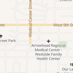 Directions for Temple Missionary Baptist Church in San Bernardino, CA 1583 Union St