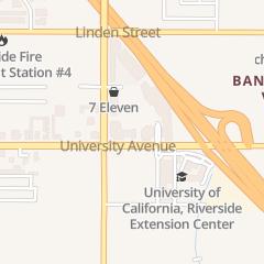 Directions for Denny's Restaurant in Riverside, CA 1245 University Ave