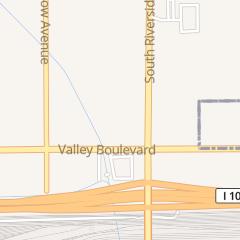 Directions for Mcdonald's Restaurant in Rialto, CA 1610 S Riverside Ave