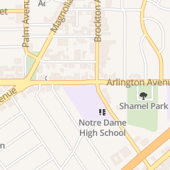 Directions for St Catherine's Catholic Church - School in Riverside, CA 3728 Arlington Ave