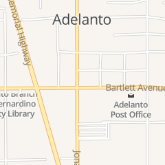Directions for Greater Life Missionary Babtist Church in Adelanto, CA 11720 Bartlett Ave