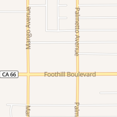 Directions for Brunswick Zone Foothill Lanes in Fontana, CA 17238 Foothill Blvd