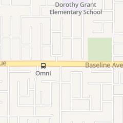 Directions for Doughnut Maker in Fontana, CA 16023 Baseline Ave Unit 11