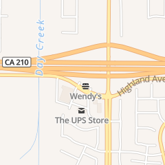 Directions for Wendy's Old Fashioned Hamburgers in Rancho Cucamonga, CA 12240 Highland Ave
