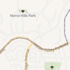 Directions for Black Belt Academy in Norco, CA 1161 Hidden Valley Pkwy