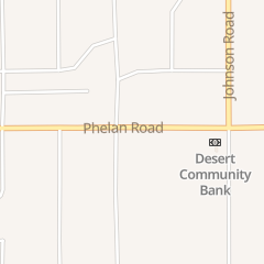 Directions for All American Fence Erectors in Phelan, CA 4731 Phelan Rd
