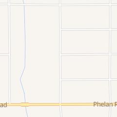 Directions for Phelan Recycling in Phelan, CA 9882 Buckwheat Rd