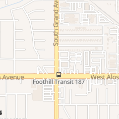 Directions for Edgar Jackson Ins in Glendora, CA 510 S Grand Ave Ste 308