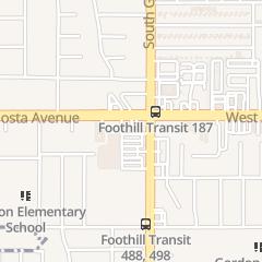 Directions for Wells Fargo Bank in Glendora, CA 602 W Route 66