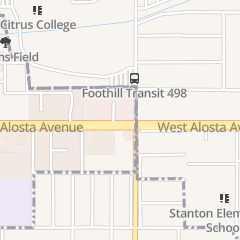 Directions for Cal National Bank in Azusa, CA 1173 E Alosta Ave