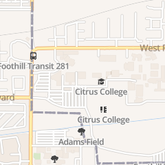 Directions for Haugh Performing Arts Center in Glendora, CA 1000 W Foothill Blvd