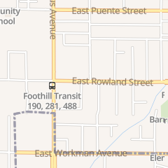 Directions for Crystal Nail Spa in Covina, CA 171 E Rowland St