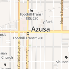 Directions for Bank of America in Azusa, CA 152 e Foothill Blvd
