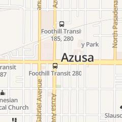 Directions for Lark Robert E in Azusa, CA 141 E Foothill Blvd