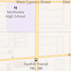 Directions for Modern Century Nail & Spa in Covina, CA 579 N Azusa Ave
