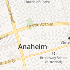 Directions for Rush June in Anaheim, CA 301 E Center St