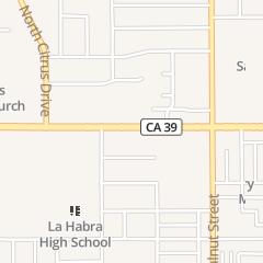 Directions for TERI SALON in LA HABRA, ca 708 E WHITTIER BLVD