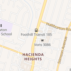 Directions for The Nail Way in HACIENDA HEIGHTS, CA 2135 S Hacienda Blvd