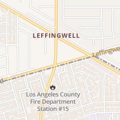 Directions for Wienerschnitzel in Whittier, CA 15753 Leffingwell Rd