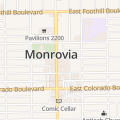 Directions for Mooncat Ramen in Monrovia, CA 110 E Lime Ave