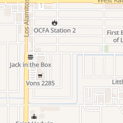 Directions for Rogers Will Middle School in Los Alamitos, CA
