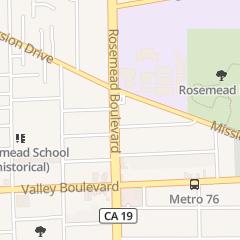 Directions for Lee Chun Woo Tae-Kwon-Do Center in Rosemead, CA 4230 Rosemead Blvd