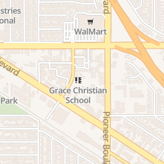 Directions for GRACE EVANGELICAL FREE CHURCH OF NORWALK in Norwalk, CA 12722 Woods Ave