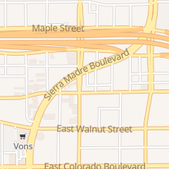 Directions for BC Donuts in Pasadena, CA 2525 E Foothill Blvd