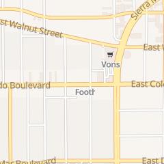 Directions for Exotic Nails in Pasadena, CA 2245 E Colorado Blvd