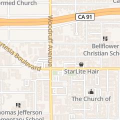 Directions for Mouw's Barber Shop in Bellflower, CA 10218 Monterey St