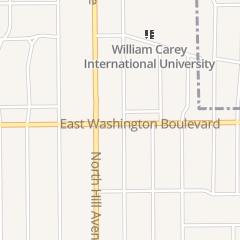 Directions for A Q Nail Salon in Pasadena, CA 1447 E Washington Blvd
