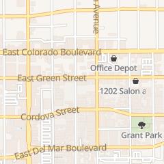 Directions for Madeline Garden in Pasadena, CA 1030 E Green St